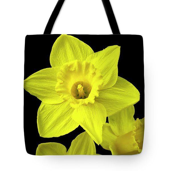 Tote Bag featuring the photograph Daffodils by Christina Rollo