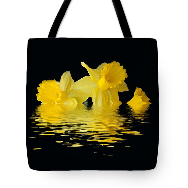 Floating Daffodils  Tote Bag by Geraldine Alexander