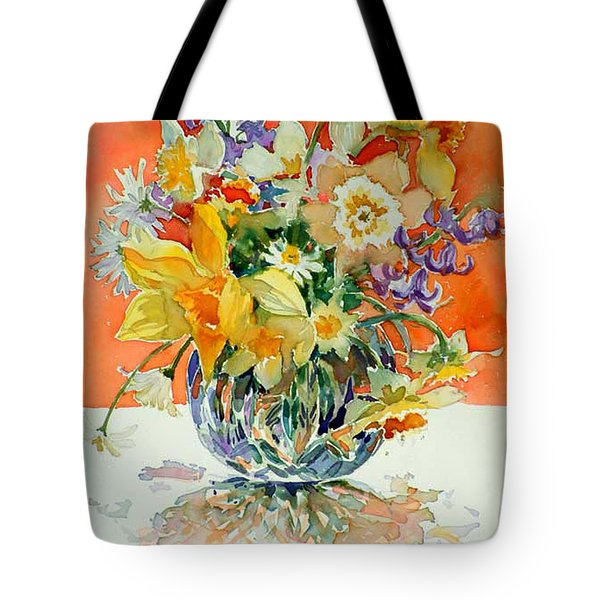 Daffs And Daisies Tote Bag
