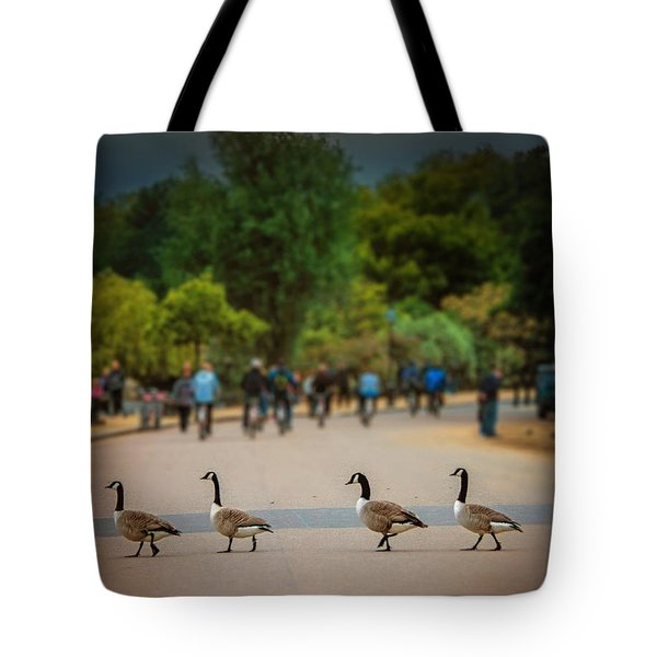 Daffy Road Tote Bag by Wallaroo Images