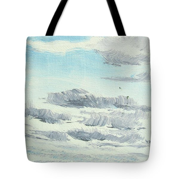 Dagrar Over Salenfjallen- Shifting Daylight Over Distant Horizon 10 Of 10_0029 Tote Bag