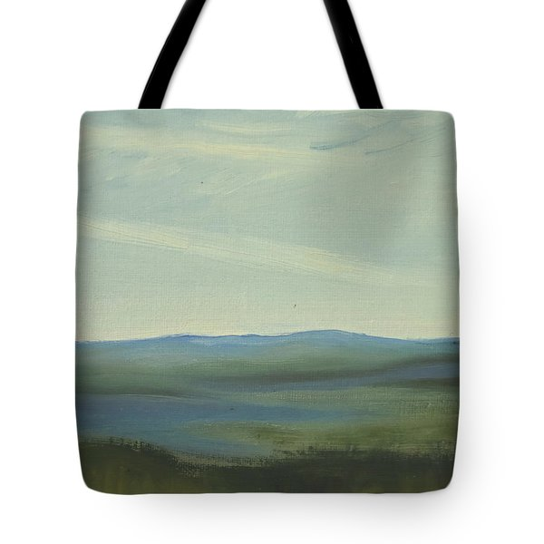 Dagrar Over Salenfjallen- Shifting Daylight Over Distant Horizon 6 Of 10 Tote Bag