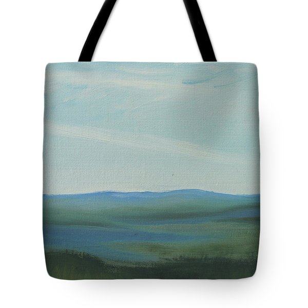 Dagrar Over Salenfjallen- Shifting Daylight Over Distant Horizon 6a Of 10_0027 50x40 Cm Tote Bag