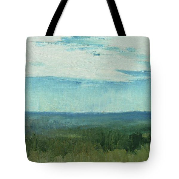 Dagrar Over Salenfjallen- Shifting Daylight Over Distant Horizon 7 Of 10_0029 Tote Bag