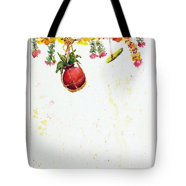 Dahi Handi Tote Bag