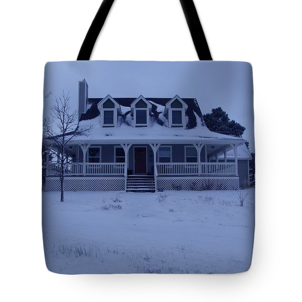Tote Bag featuring the photograph Dahl House by Gene Gregory