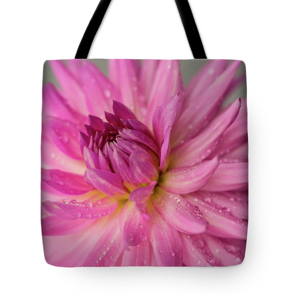 Dahlia After The Rain Tote Bag