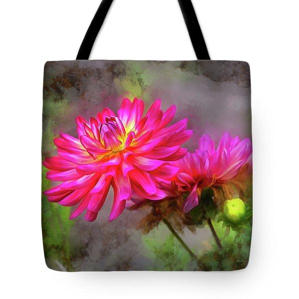 Dahlia Beauty Tote Bag