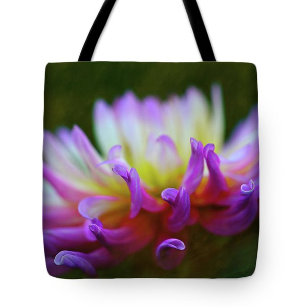 Dahlia Bloom  Tote Bag