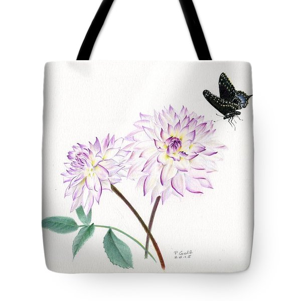 Dahlia Crazy Love Tote Bag