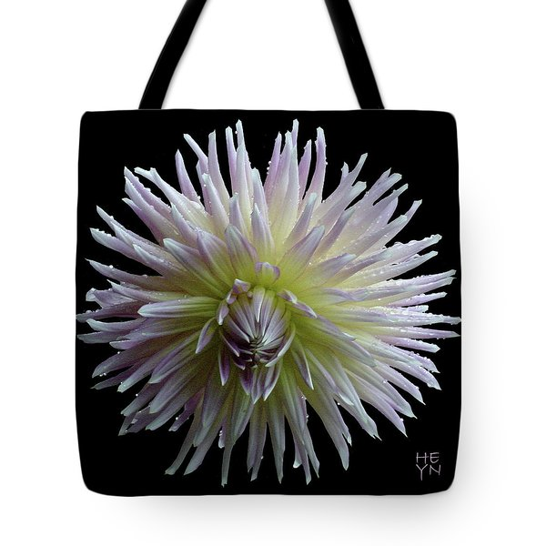Dahlia Cutout Tote Bag by Shirley Heyn