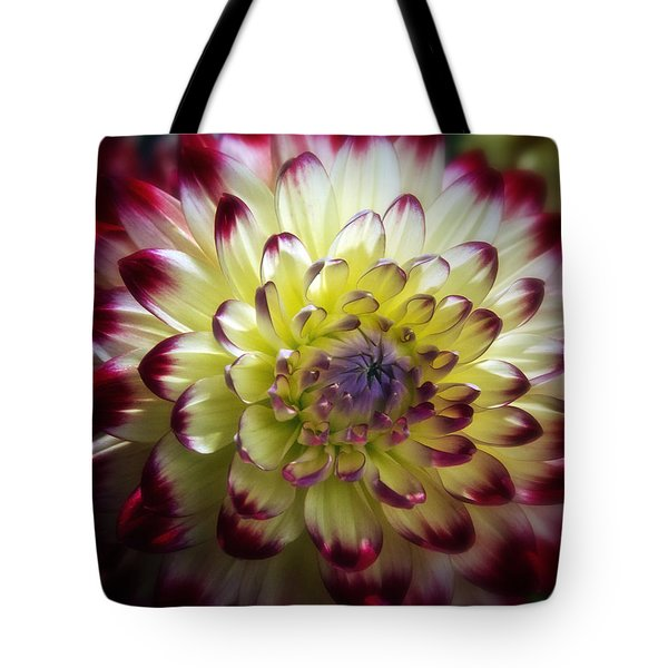 Dahlia Fine Art Photograph Tote Bag