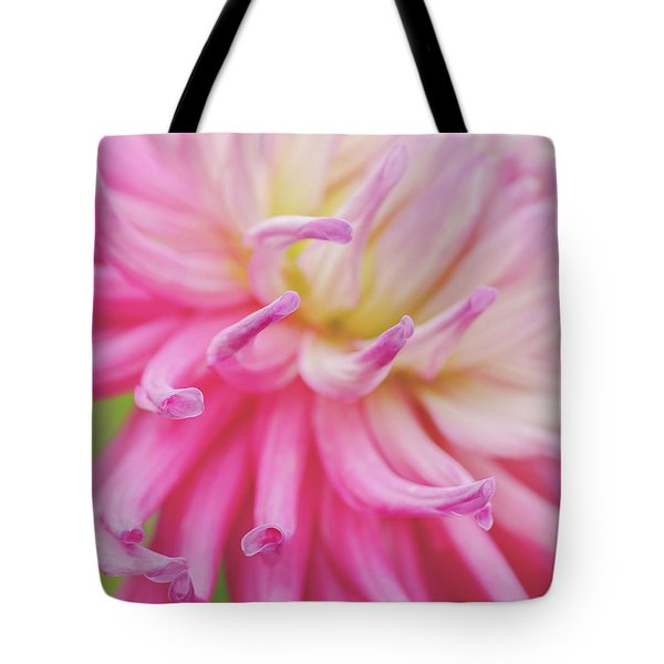 Dahlia Fingers  Tote Bag