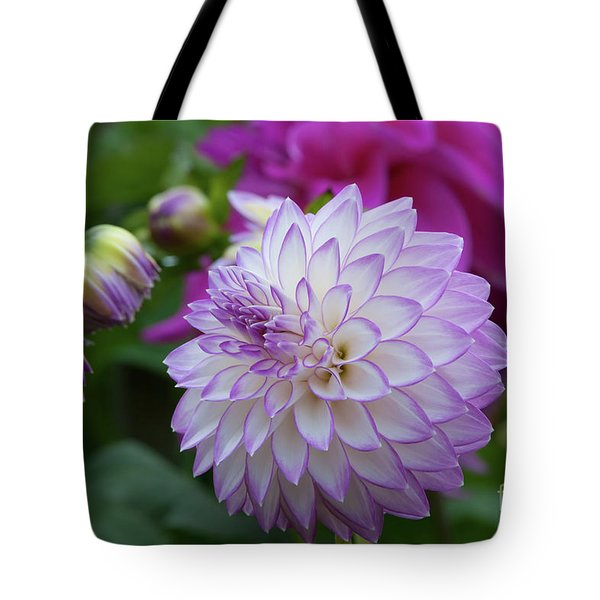 Dahlia Tote Bag by Glenn Franco Simmons