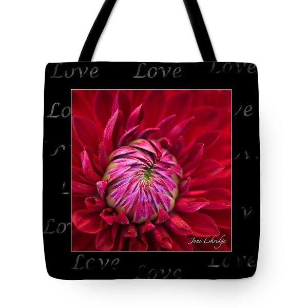 Dahlia Of Love Tote Bag
