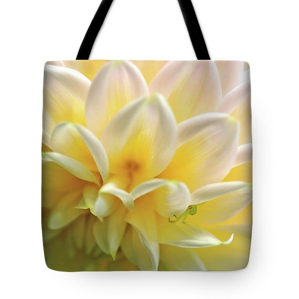 Tote Bag featuring the photograph Dahlia Patterns By Kaye Menner by Kaye Menner
