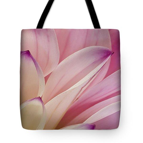 Dahlia Petals 3 Tote Bag