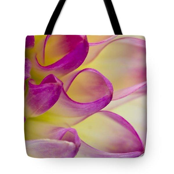Dahlia Petals 4 Tote Bag