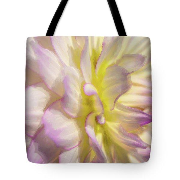 Dahlia Study 5 Painterly  Tote Bag