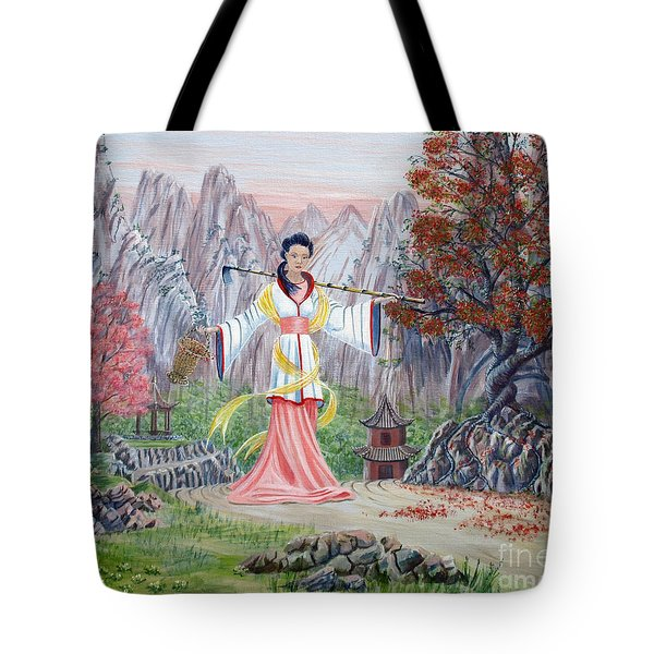 Dai Yuu Tote Bag by Anthony Lyon