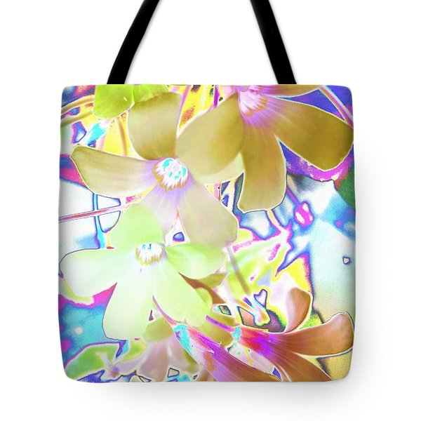 Dainty Bloosoms Tote Bag