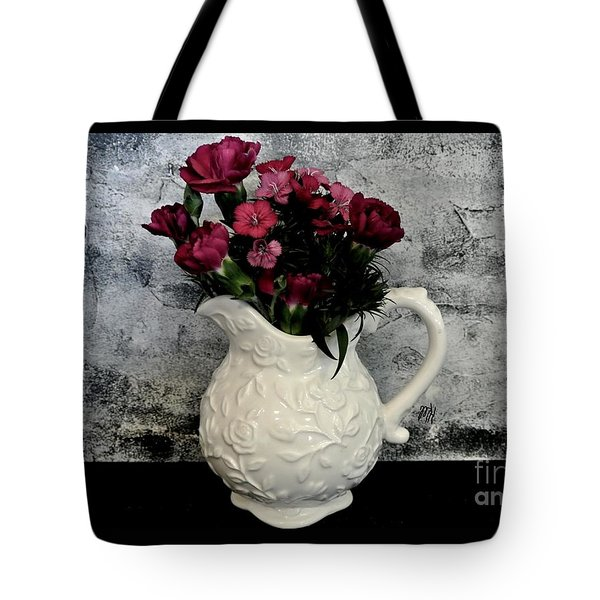 Dainty Flowers Tote Bag