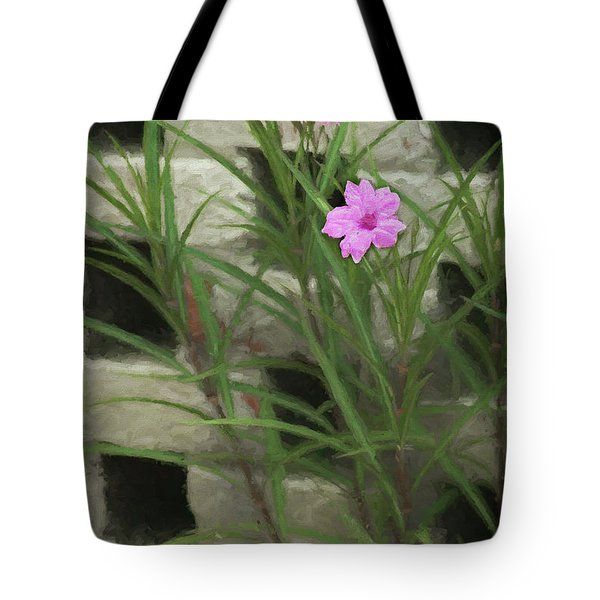Tote Bag featuring the photograph Dainty Pink by Penny Lisowski
