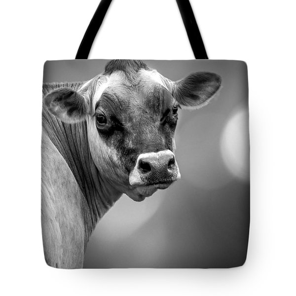 Dairy Cow Elsie Tote Bag by Bob Orsillo