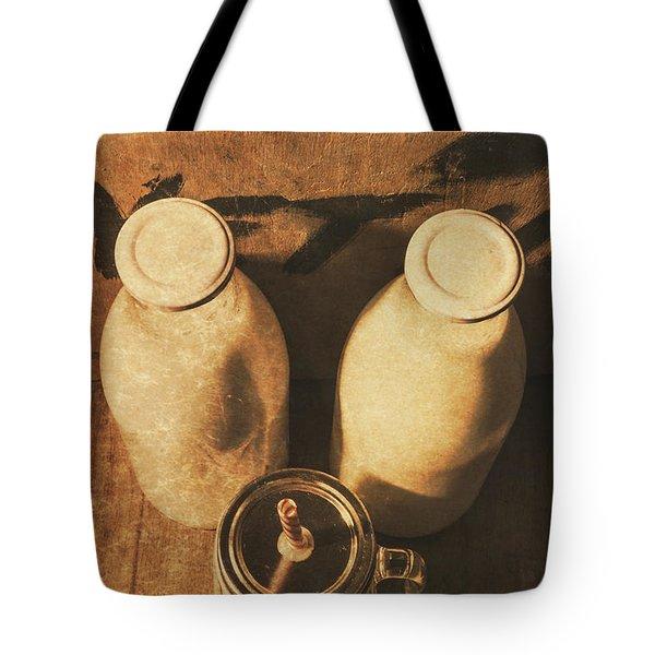 Dairy Nostalgia Tote Bag