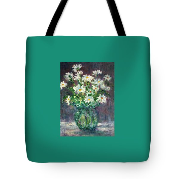 Daises Tote Bag by Jill Musser