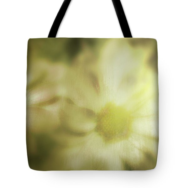 Tote Bag featuring the photograph Daisies by Gray  Artus
