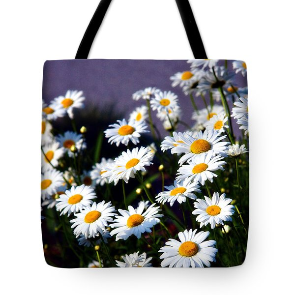 Daisies Tote Bag by Lana Trussell