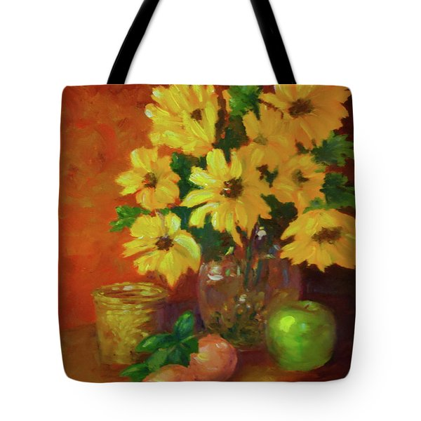 Daisies Of The Galaxy Tote Bag