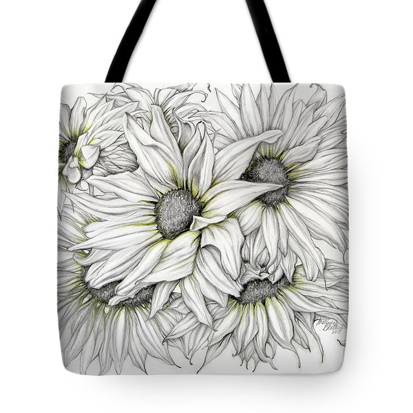 Sunflowers Pencil Tote Bag