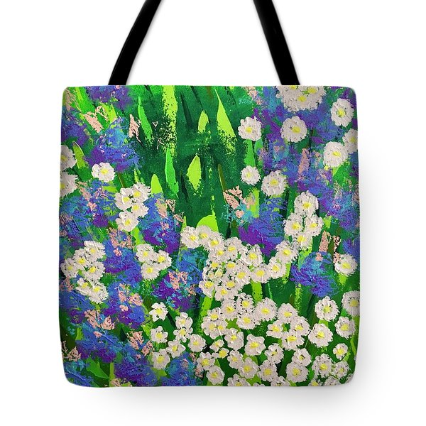 Daisy And Glads Tote Bag