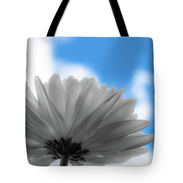 Tote Bag featuring the photograph Daisy Blue by Keith Smith