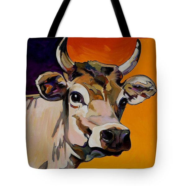Tote Bag featuring the painting Daisy by Bob Coonts