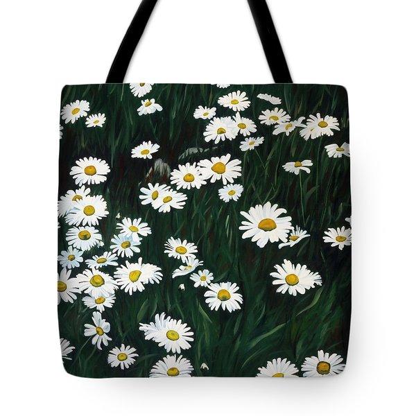 Daisy Bouquet Tote Bag