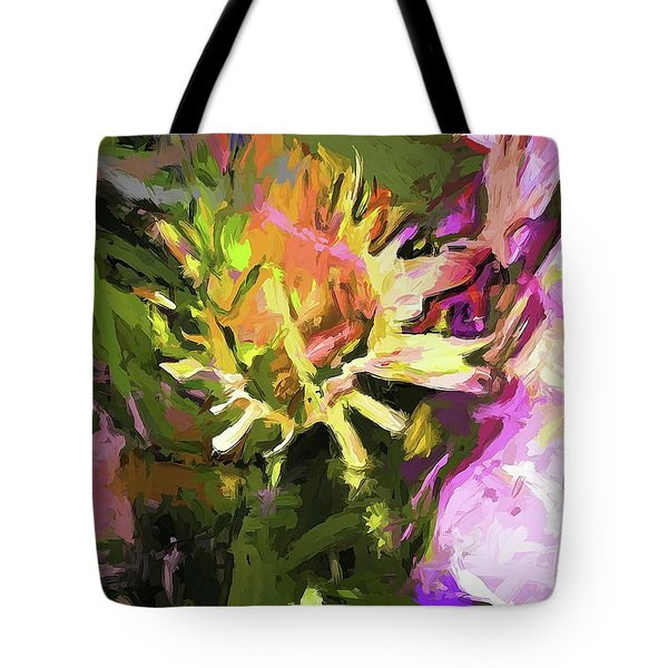 Daisy Breeze Tote Bag