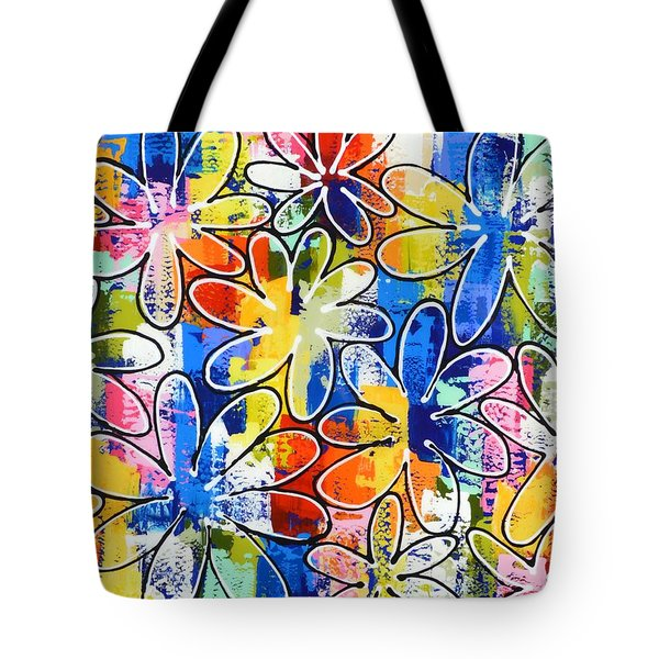 Daisy Chain Tote Bag