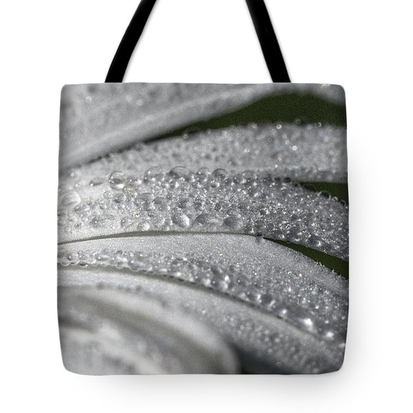 Daisy  Dewdrops Tote Bag by Darleen Stry