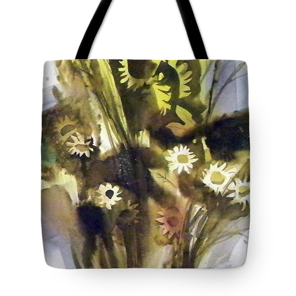 Daisies Tote Bag by Ed Heaton