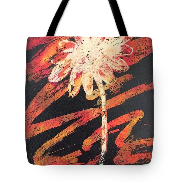 Tote Bag featuring the painting Daisy by Elizabeth Mundaden