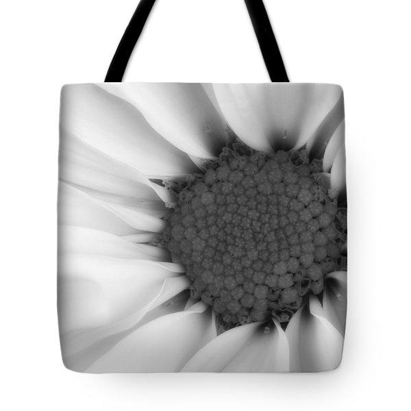 Daisy Flower Macro Tote Bag