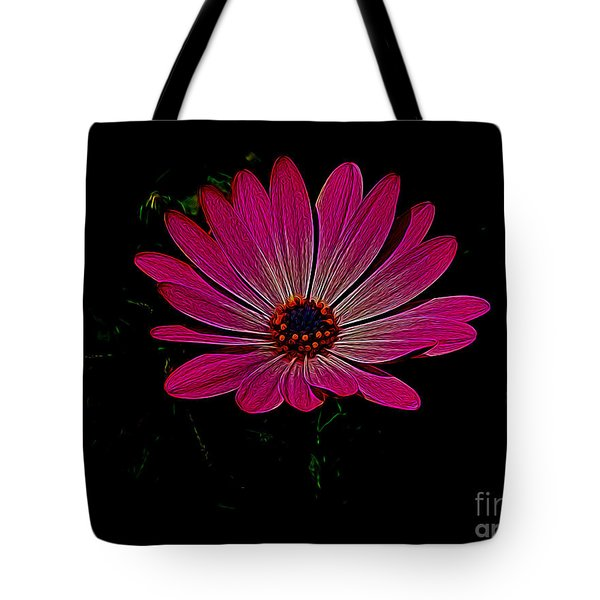 Daisy Flower Tote Bag by Suzanne Handel