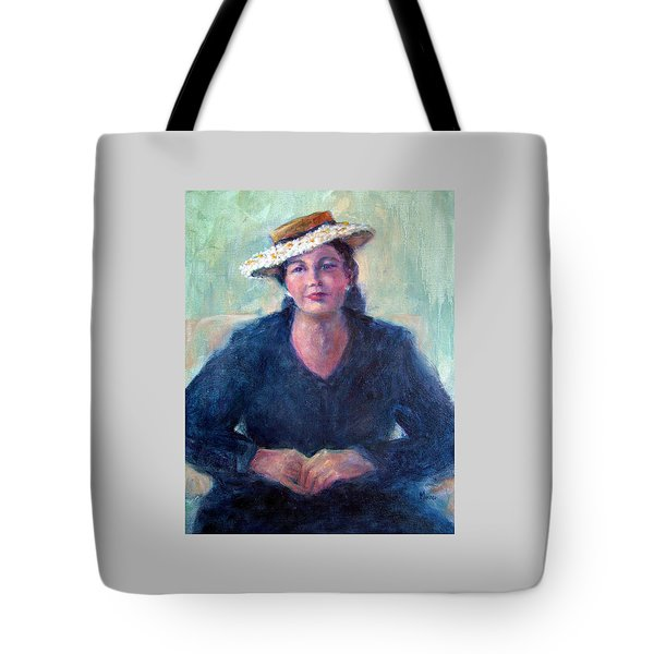 Daisy Hat Tote Bag by Jill Musser