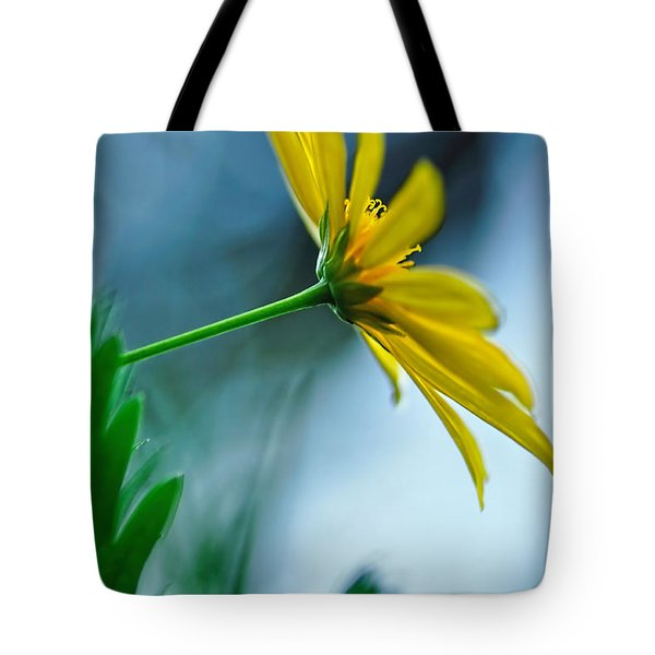 Daisy In The Breeze Tote Bag by Kaye Menner
