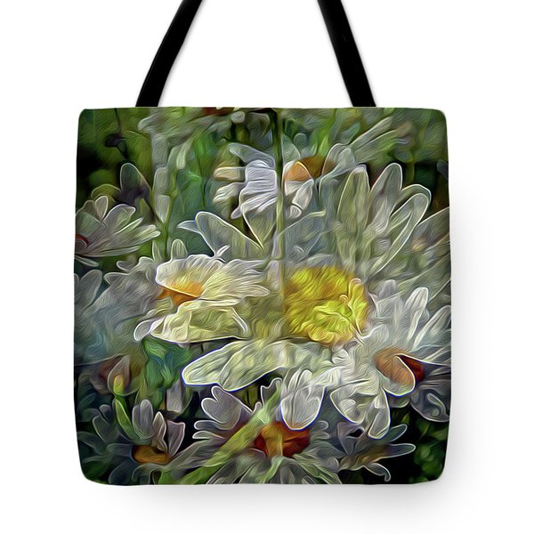 Daisy Mystique 8 Tote Bag