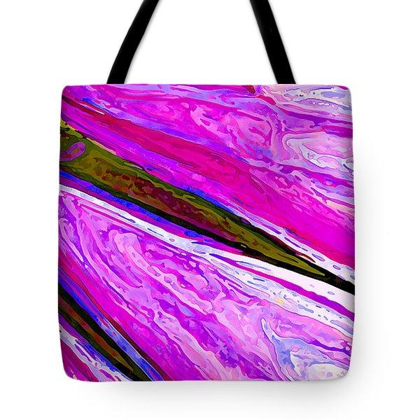 Daisy Petal Abstract 1 Tote Bag