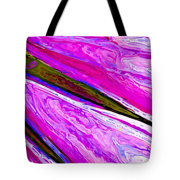 Daisy Petal Abstract 1 Tote Bag by ABeautifulSky Photography